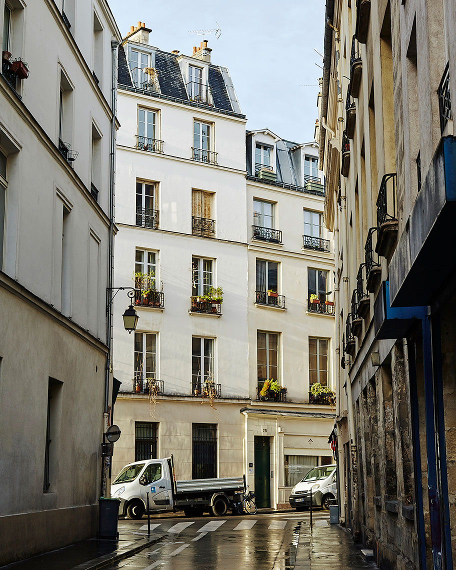 Rue Charlot, Paris, France