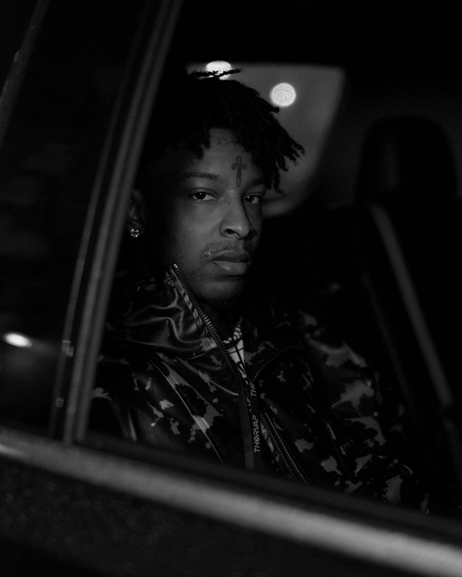 21 Savage for W Magazine