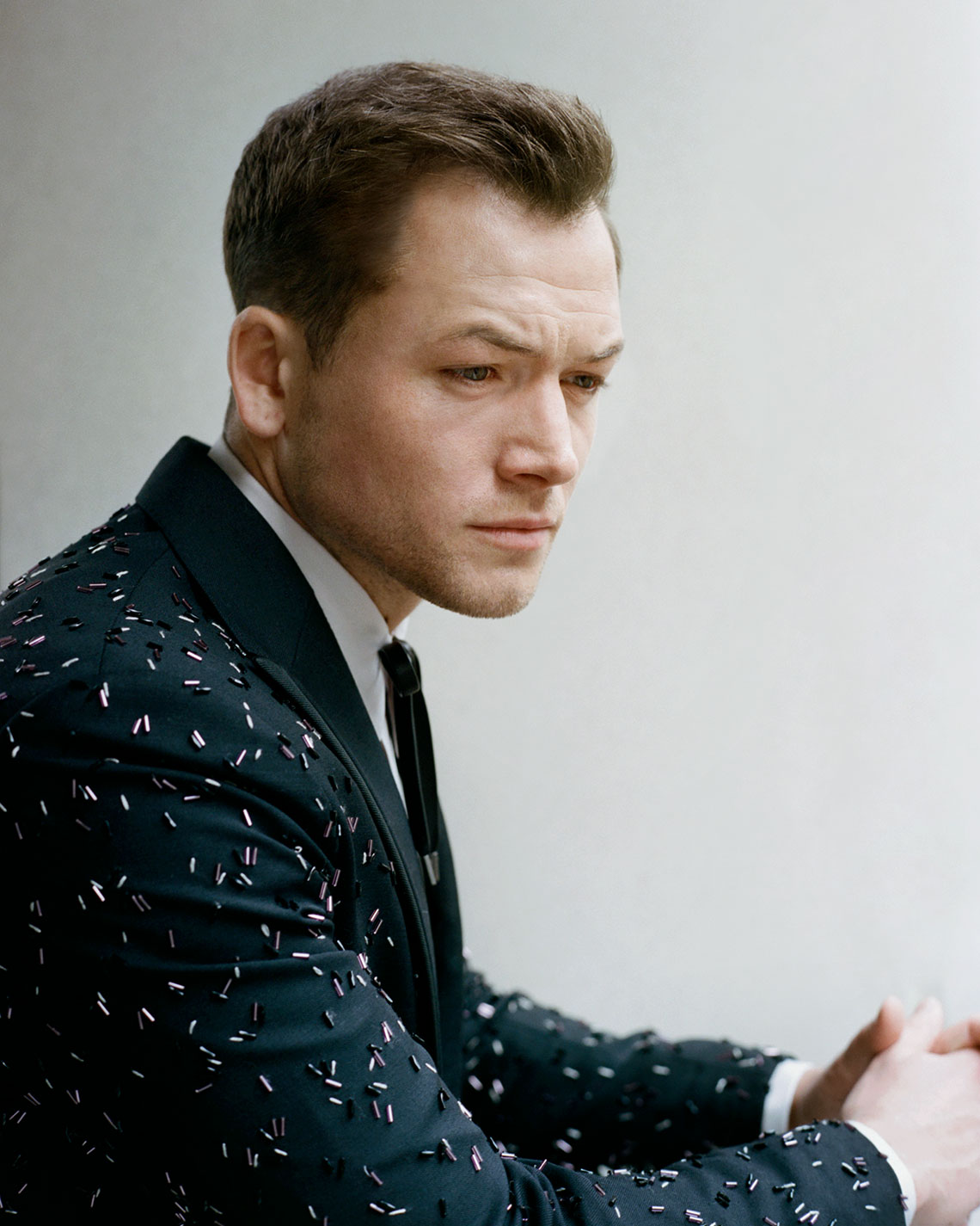 Taron Egerton Before the Met Gala for W Mag, New York, NY