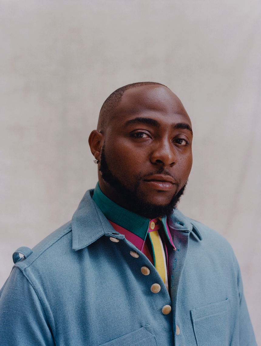 Davido shot for W Mag in Los Angeles, CA l Styled by Sean Knight